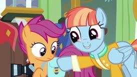 Rainbow Dash saves Ponyville headlines like you.