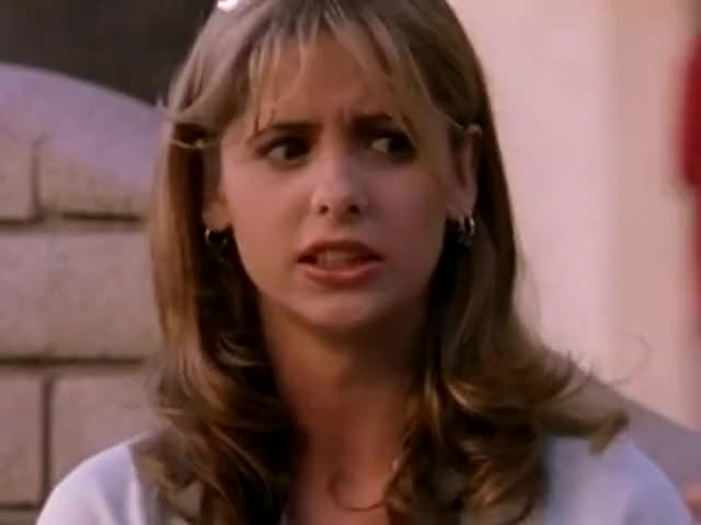 Clip image for 'Not much goes on in a town like Sunnydale. You're pretty big news.