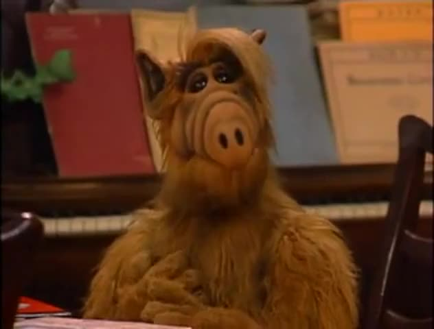 """""""Brave alf and the giant cockroach""""?"""