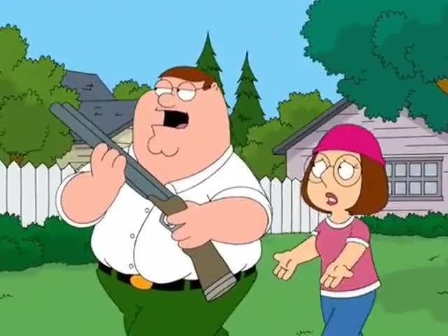 - Put that gun away! - I just wanna talk to him.