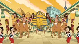 ♪ And that's how they do it from Egypt to France ♪