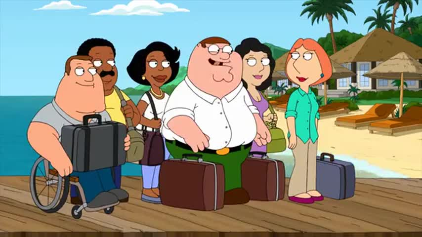 Family Guy Friends of Peter G TV Episode