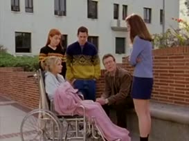 - Cordelia, have you ever heard of tact? - Tact is just not saying true stuff. I'll pass.