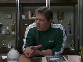 "You love patting boys' butts."""