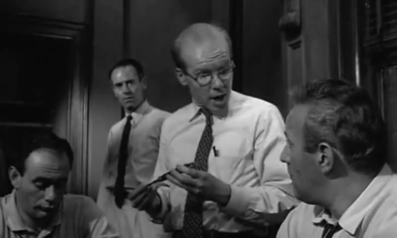12 angry men parts Cobb in 12 angry men (1957) and scott in this remake both play juror #3 and cobb played lt kinderman in the exorcist (1973) (directed by 'friedkin, william', like this film), as did scott in the sequel the exorcist iii (1990.