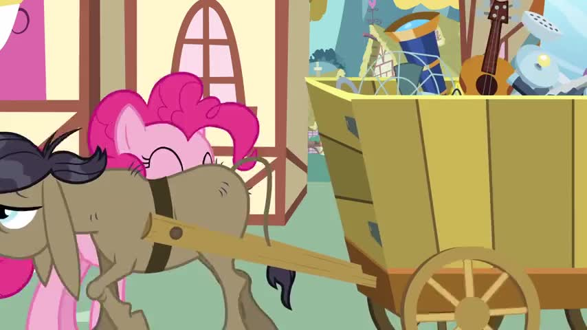 Thanks! I'm Pinkie Pie. What's your name?