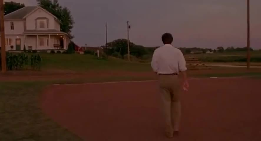 Ease His Pain. ~ Field Of Dreams (1989)