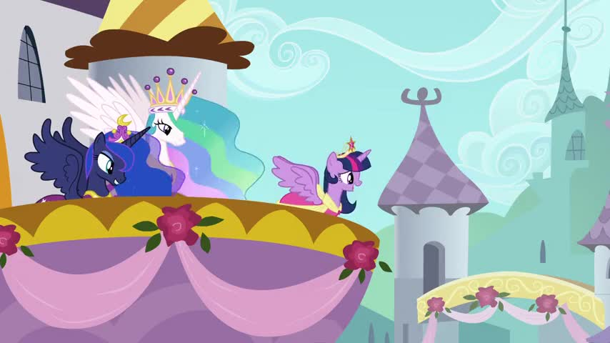 my teacher and mentor Princess Celestia sent me to live in Ponyville.