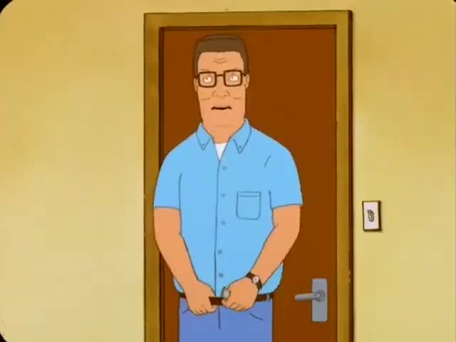 Why is it always about asses with you, Hank?