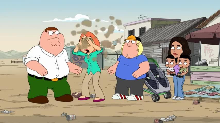 (coughs) Damn it, Peter!
