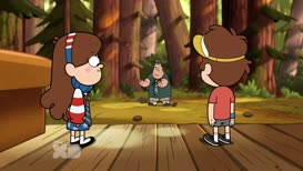 - I am Soos-tron. - Watch me eat this pinecone.