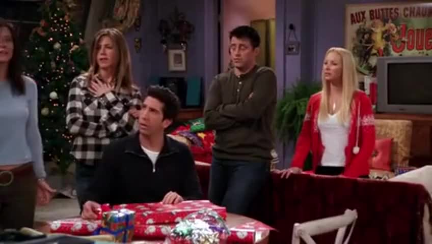 YARN | The One with Christmas in Tulsa - Friends [S09E10