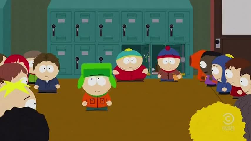 Cartman's farts in my tummy?