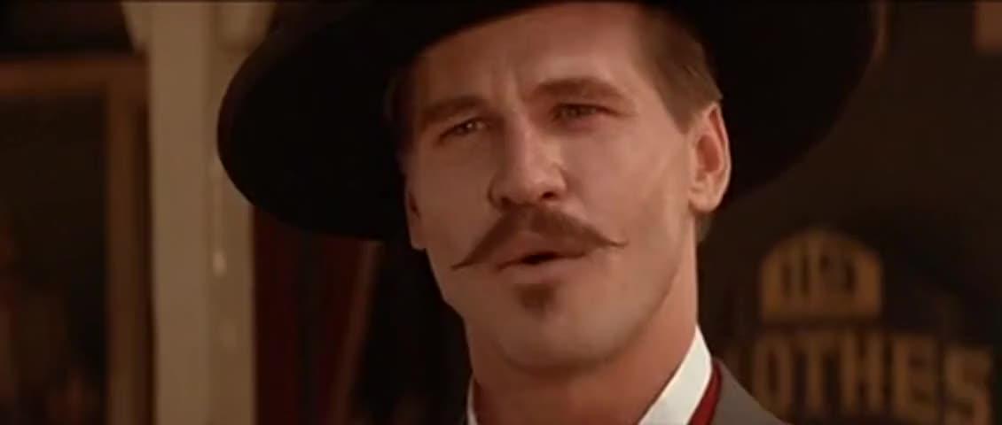 Yarn | Wyatt, I am rolling. Morgan. ~ Tombstone (1993) Drama ...