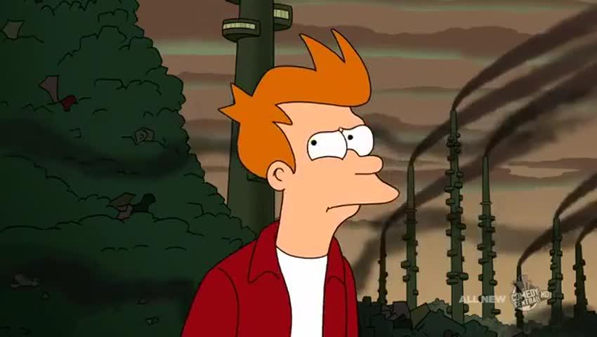 Yarn | What smells like bloody sinuses? ~ Futurama (1999) - S06E03