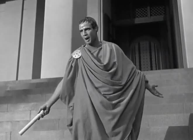 mark anthony from julius caesar essay Julius caesar commentary on the relationship between marc antony and julius caesar loyalty means faithfulness to one's friends, country, ideals, etc.