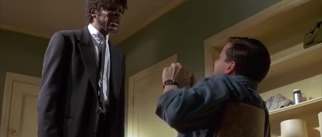 - English, motherfucker! Do you speak it? - Yes!