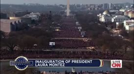 the arrival of President-Elect Laura Montez.