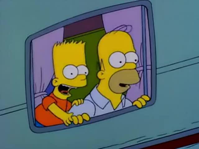 - Eat my shorts. - Eat my shorts.