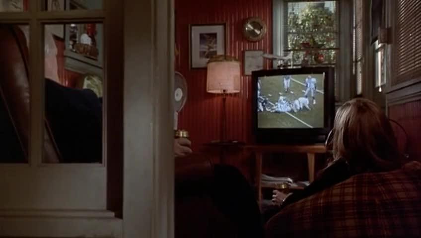 Enormous TV.
