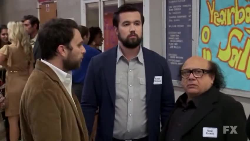 """Quiz for What line is next for """"It's Always Sunny in Philadelphia """"? screenshot"""