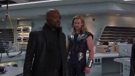 FURY: Excuse me, did we come to your planet and blow stuff up?