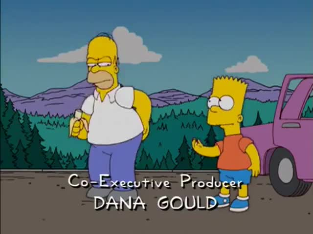 Bart, you promised you'd stop making that comparison!