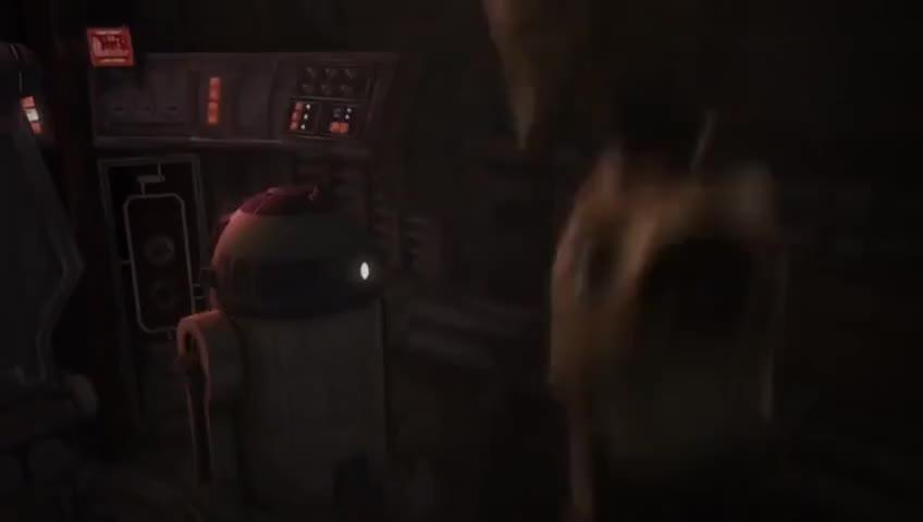 Artoo, do something.