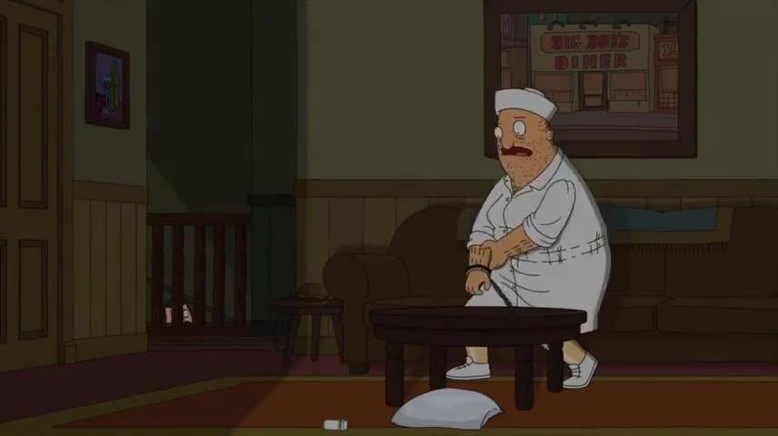 No, I'm fine, Teddy. I only fell halfway Dow...