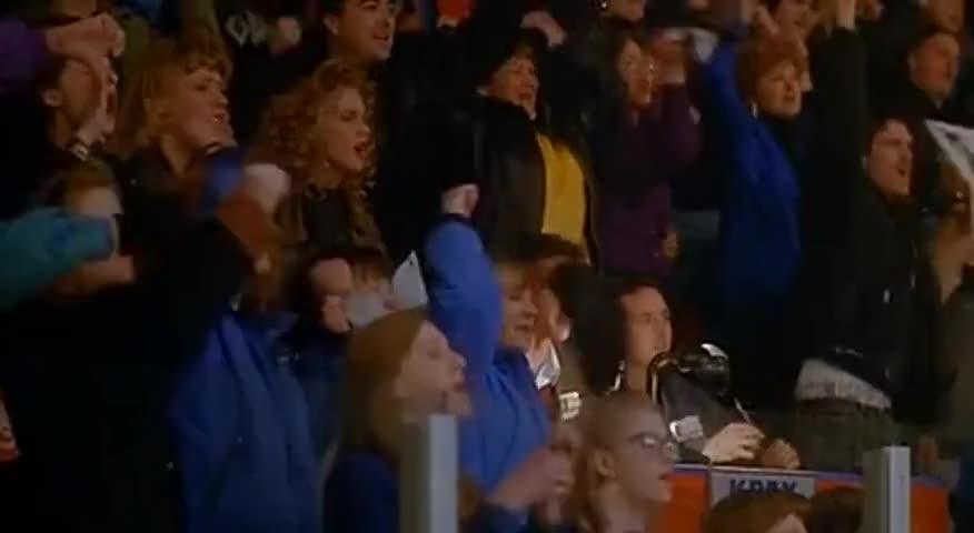 [ Chanting ] Win, win, win, win !