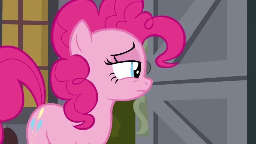 Go away, Pinkie!