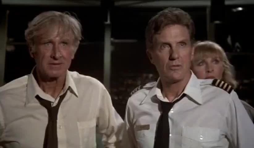Yarn | - Sure is quiet out there. - Yeah, too quiet. ~ Airplane! (1980) |  Video clips by quotes, clip | ce665c72-0385-4a80-b2b5-d9e2756cf09f | 紗
