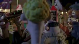 Kiss my potato. Not now. Kiss my artichoke.