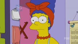 Homer forgot his lunch box.