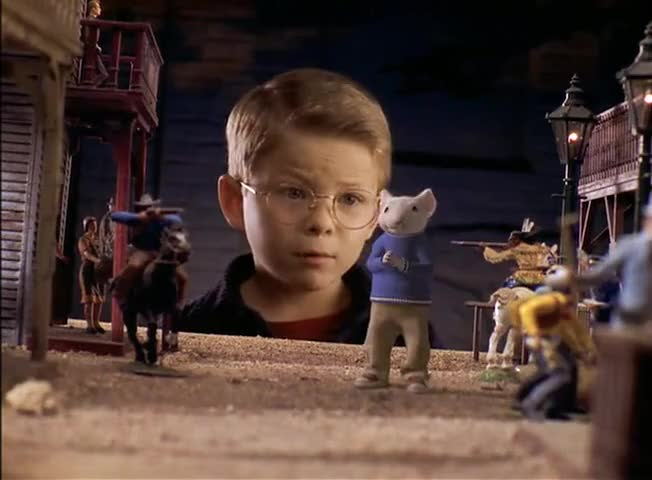 Yarn   What are you doing here? ~ Stuart Little (1999