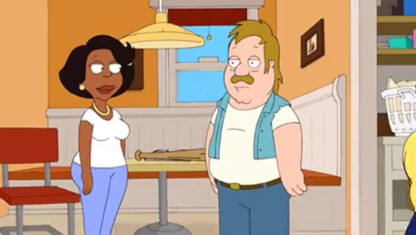 Holt's voice: Dyn-o-mite!
