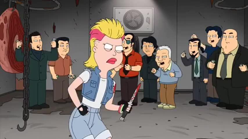 Yeah! You're dead, Becky!