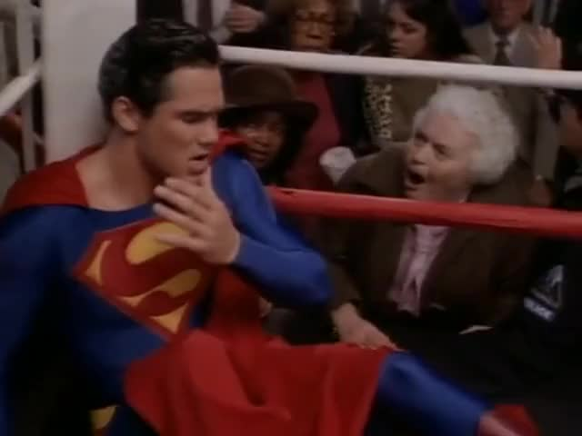 Are you hurt, Superman?