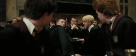 - I mean, you actually fainted? - Shove off, Malfoy.