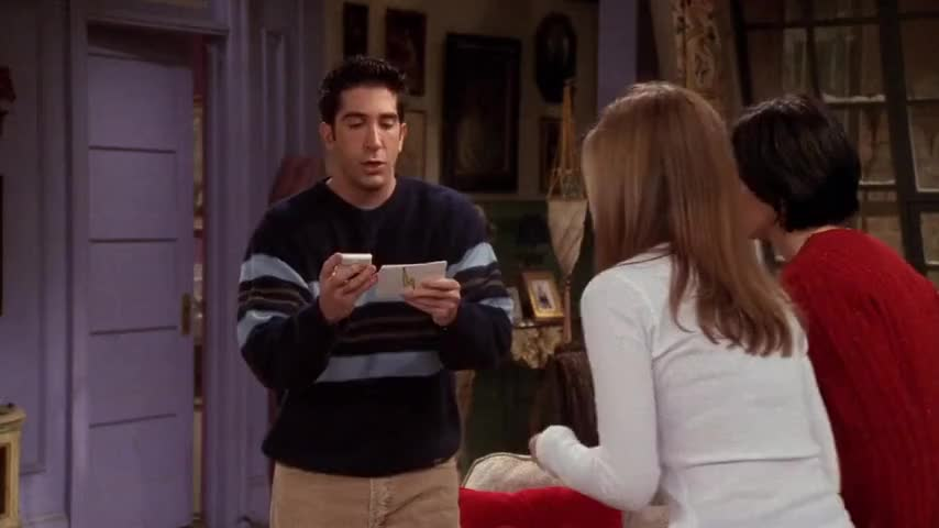 """Joey had an imaginary childhood friend."