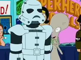 Hey, I'm Roger. Nice to meetyou. Nanu nanu.