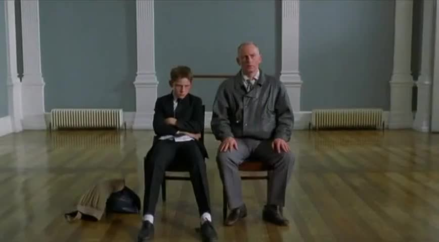 father son relationship in billy elliot Billy elliot film review (2012) austere political struggles of his father and older brother which daldry exhibits billy's relationship with dance as a.