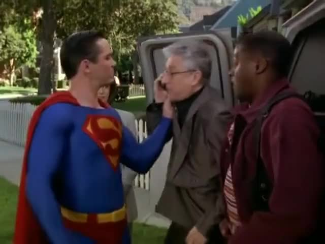 I'm having a little problem with Superman.