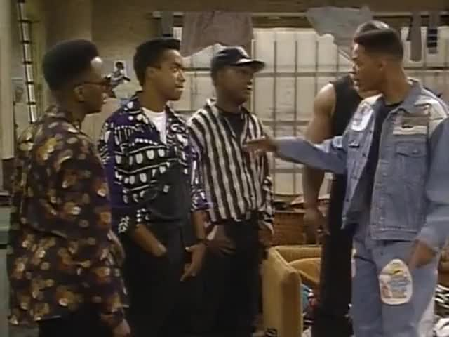 Clip image for '- My brother, you wanna take this outside? - Yo, Prince, chill out.