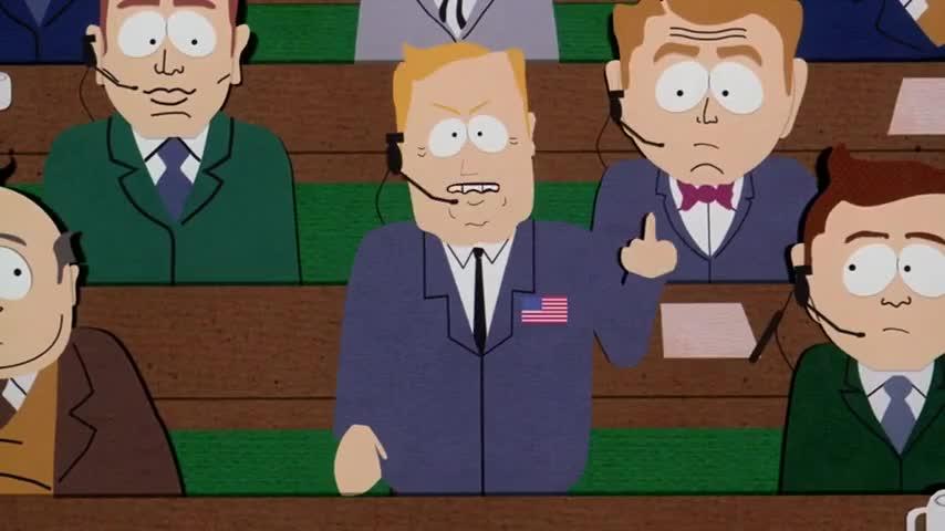 - Fuck Canada! - Hey, fuck you, buddy!