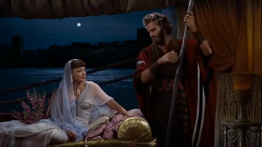 Clip image for 'Oh, Moses, Moses.