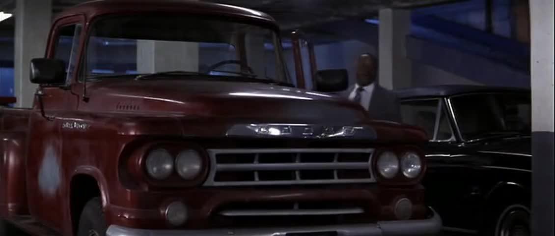 Oh, come on, now. Who am l, Redd Foxx? I can't roll in no shit like that.