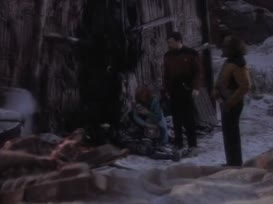 - Riker to Enterprise. - Go ahead, Number One.