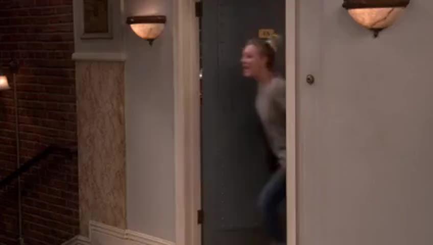 Clip image for 'Hey, Bernadette's water broke!