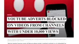 """* PewDiePie announces """"advertising-apocalypse"""" when new rules restricting advertising youtube only for verified channels"""